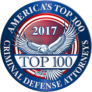 America's Top 100 Criminal Defense Attorneys 2017® Recipient Award