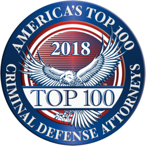 America's Top 100Criminal Defense Attorneys 2018® Recipient Award