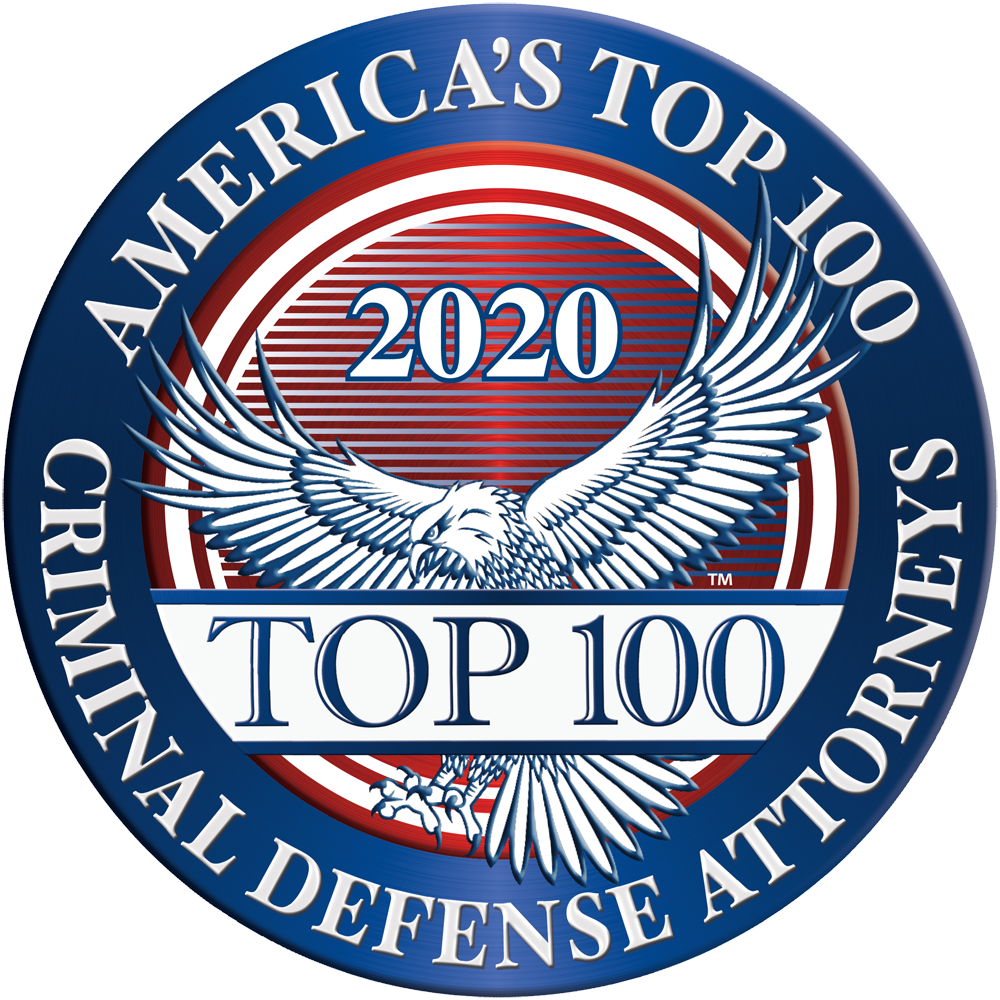 America's Top 100 Criminal Defense Attorneys 2020 Recipient Award